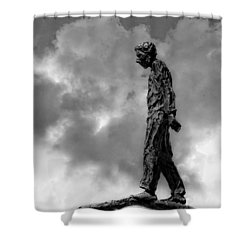 Ring Walker II Shower Curtain