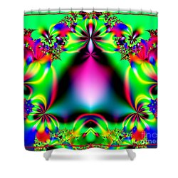 Ringing In Spring Fractal 145 Shower Curtain by Rose Santuci-Sofranko
