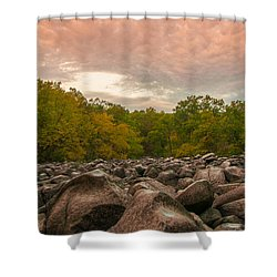 Ringing Rock Shower Curtain
