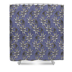 Ringpull Shower Curtain
