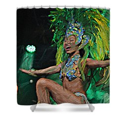 Rio Dancer I A Shower Curtain