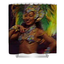 Rio Dancer IIi A Shower Curtain