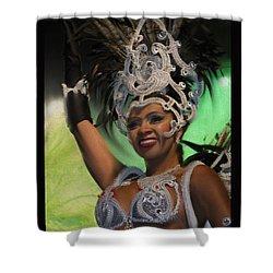 Rio Dancer Iv B Shower Curtain