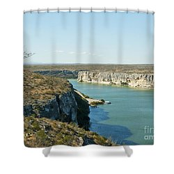 Shower Curtain featuring the photograph Rio Grande by Erika Weber