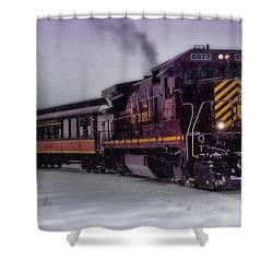 Rio Grande Scenic Railroad Shower Curtain by Ellen Heaverlo