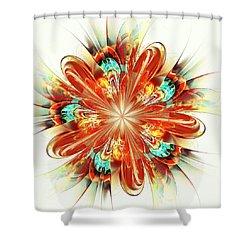 Riot Shower Curtain by Anastasiya Malakhova