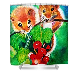 Ripe-n-ready Cherry Tomatoes Shower Curtain