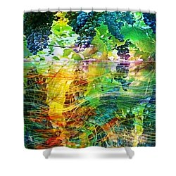 Ripened Vines Shower Curtain by PainterArtist FIN