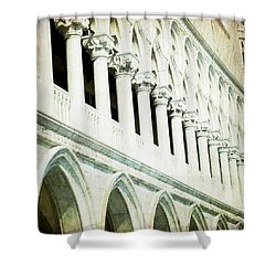 Ripeti - Venice Shower Curtain by Lisa Parrish