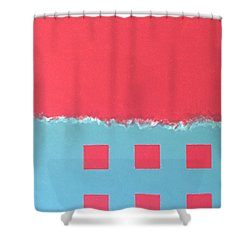 Riptide Shower Curtain by Thomas Gronowski