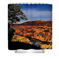 Shower Curtain featuring the photograph Rise And Look Around You by Robert McCubbin