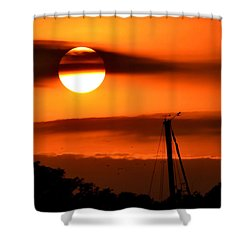 Shower Curtain featuring the photograph Rise And Shine by Deena Stoddard