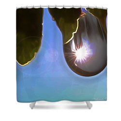 Rise And Shine From Dullness Shower Curtain