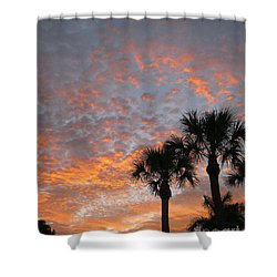 Rise And Shine. Florida. Morning Sky View Shower Curtain