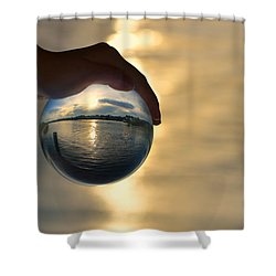 Rise Shower Curtain by Laura Fasulo