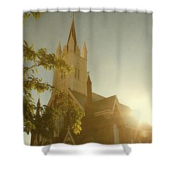 Rise Shower Curtain by Margie Hurwich