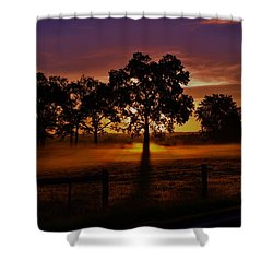 Rise Shower Curtain by Robert Geary