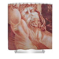 Risen Shower Curtain