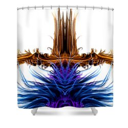 Rising Above Shower Curtain