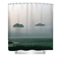 Rising From The Mist Shower Curtain
