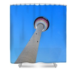 Rising High Shower Curtain by Evelina Kremsdorf