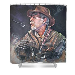 Rising Out Of The Sands Of Time Shower Curtain