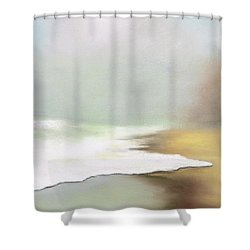 Rising Tides Shower Curtain by Frances Marino