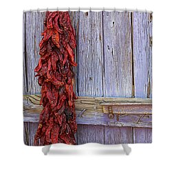 Ristra Shower Curtain by Lynn Sprowl