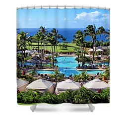 Ritz Carlton 17 Shower Curtain