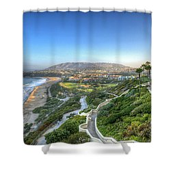Ritz-carlton Laguna Niguel Ocean View Shower Curtain