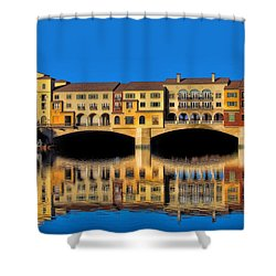 Ritzy Shower Curtain by Tammy Espino