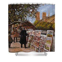 Rive Gouche Shower Curtain by Guido Borelli