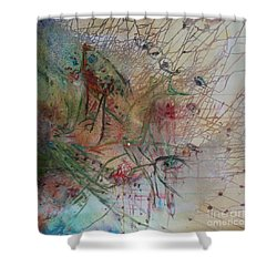 River Shower Curtain by Avonelle Kelsey