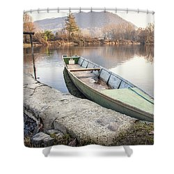 River Boat Shower Curtain