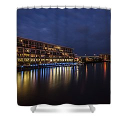 River Colors Shower Curtain