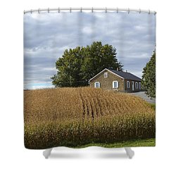 River Corner Mennonite Church Shower Curtain