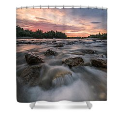 River Of Dreams Shower Curtain by Davorin Mance