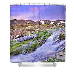 River San Juan Shower Curtain by Guido Montanes Castillo