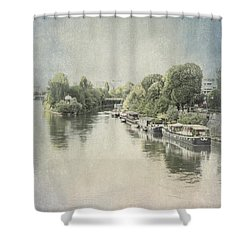 River Seine In Paris Shower Curtain