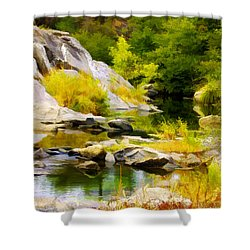 River Spirit Shower Curtain