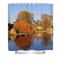 River Thames At Marlow Shower Curtain