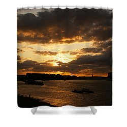River Thames From Greenwich Shower Curtain