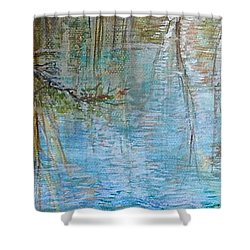 River's Stories  Shower Curtain