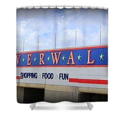 Riverwalk Shower Curtain by Beth Vincent