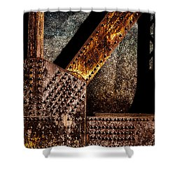 Rivets  Shower Curtain by Bob Orsillo