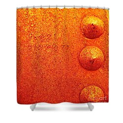 Rivets Shower Curtain