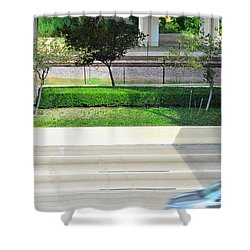 Road And Rail Shower Curtain