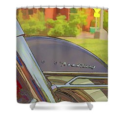 Road King Shower Curtain
