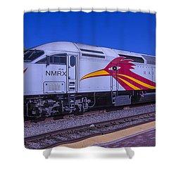 Road Runner Express Train Shower Curtain