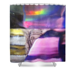 Shower Curtain featuring the photograph Road To Another Dimension by Martin Howard
